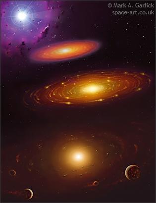 naissance du systeme solaire