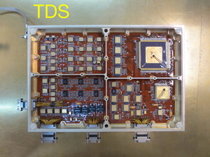 Carte TDS (Time Domain Sampler) de l'instrument RPW