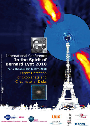 "Affiche de la conférence ""In the Spirit of Lyot 2010"""