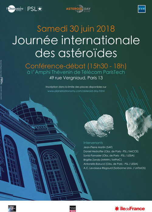 Affiche Asteroid Day