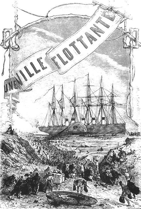Jules verne une ville flottante for Piscine nantes jules verne
