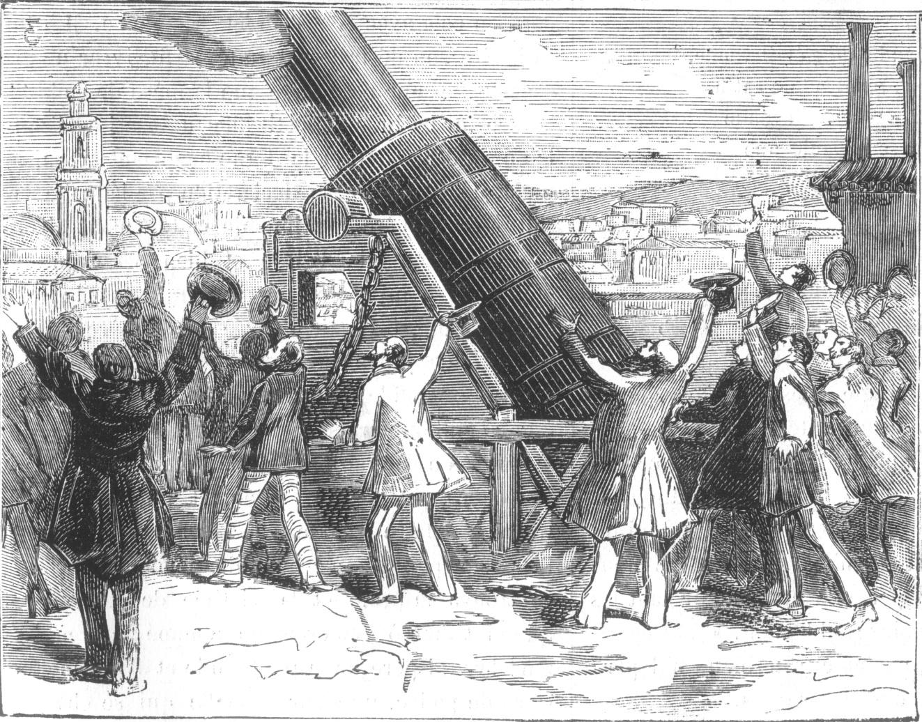 Jules Verne De La Terre 224 La Lune Autour De La Lune