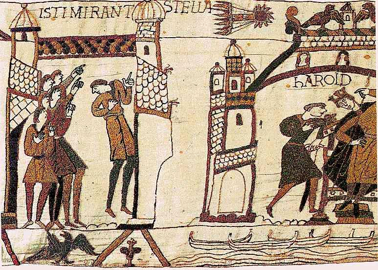 les ovnis dans les oeuvres antiques (fr.sci.zetetique) - Page 2 Halley_bayeux